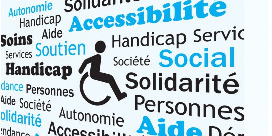 Nuage de mots handicap