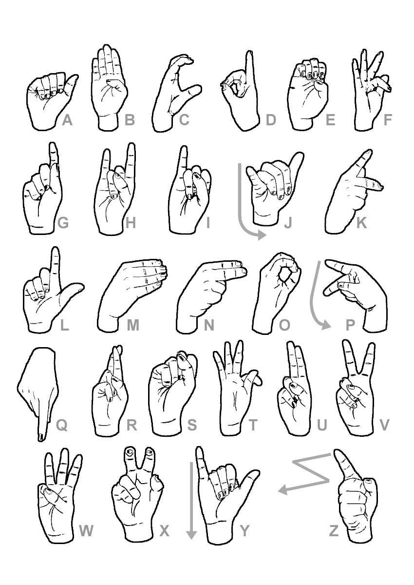 Exceptionnel Langue des signes: des mains pour discuter - Mobile en ville LA09
